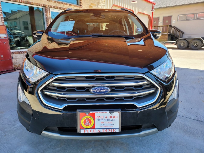 Ford EcoSport 2020 price $18,999
