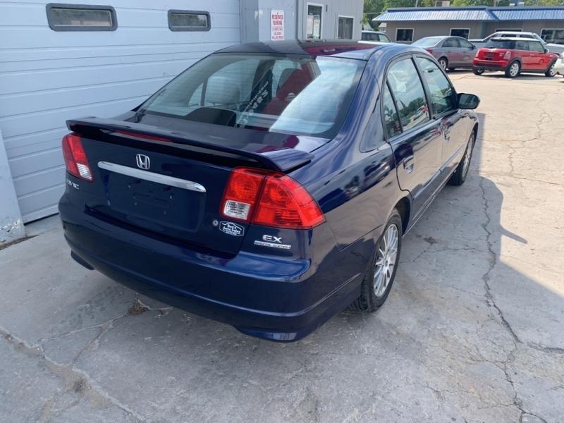 HONDA CIVIC 2005 price $5,317