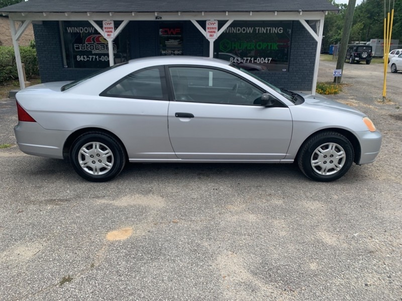HONDA CIVIC 2002 price $3,415
