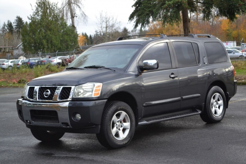 2004 Nissan Armada Se 4wd 4dr Suv Skyline Motors Auto Sales Dealership In Tacoma
