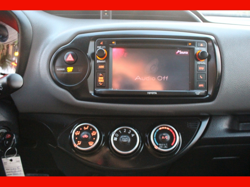 Toyota Yaris 2015 price $7,000