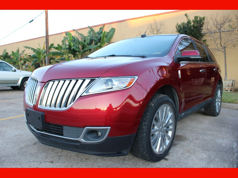 Lincoln MKX 2013 price $8,999