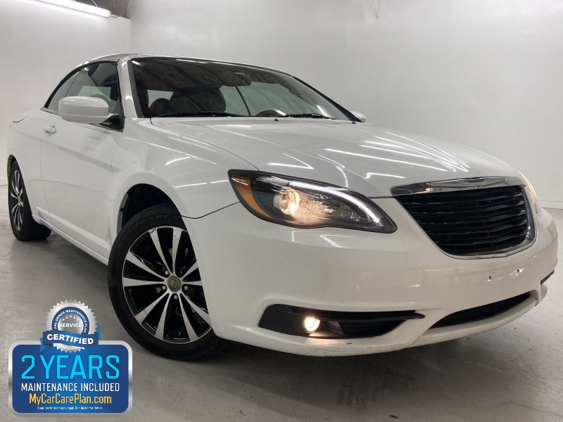 Chrysler 200 S Convertible 2014 price $12,850