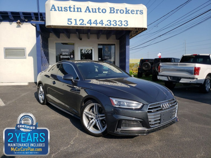 Audi A5 Coupe 2018 price $27,750