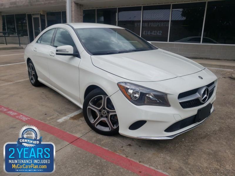 Mercedes-Benz CLA 250 2018 price $27,800