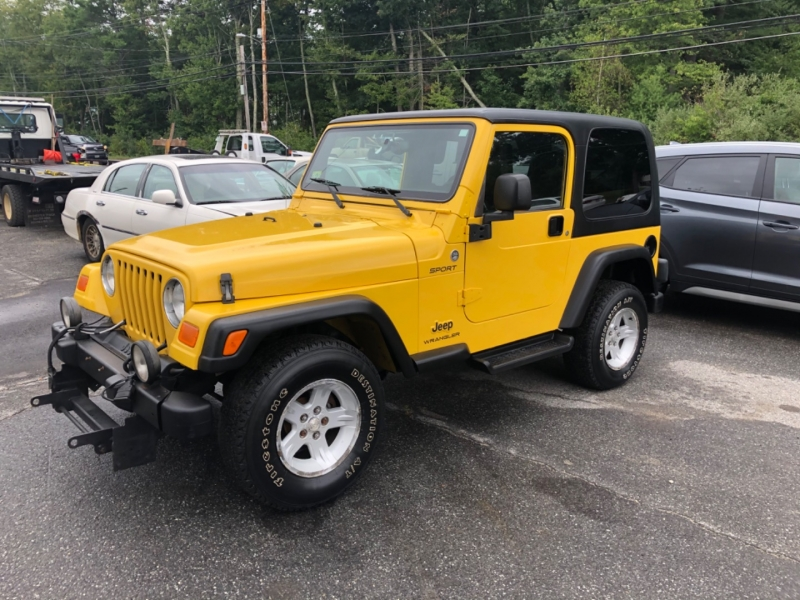 Jeep Wrangler 2006 price $11,900