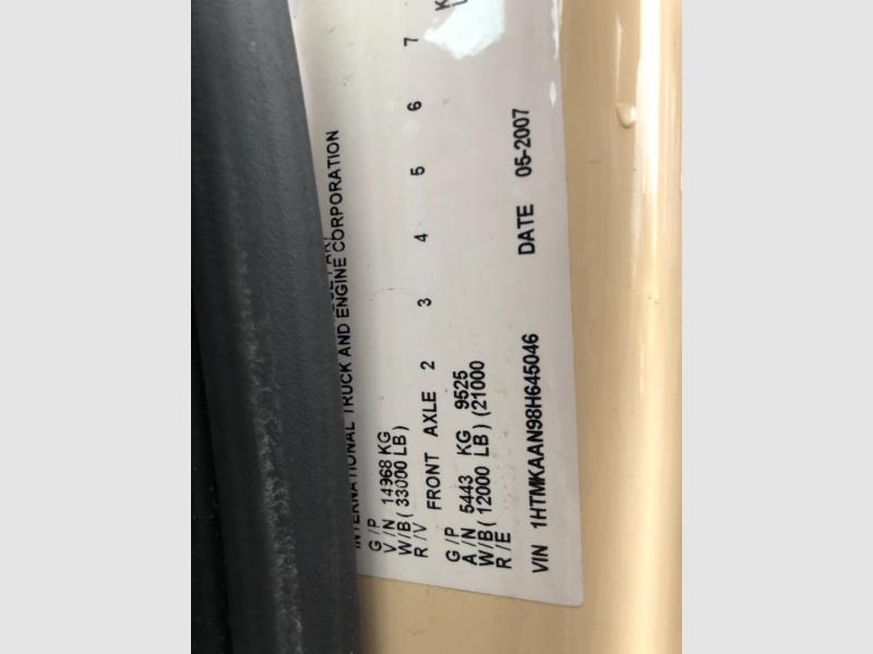 International DURASTAR 4400 2008 price $43,900