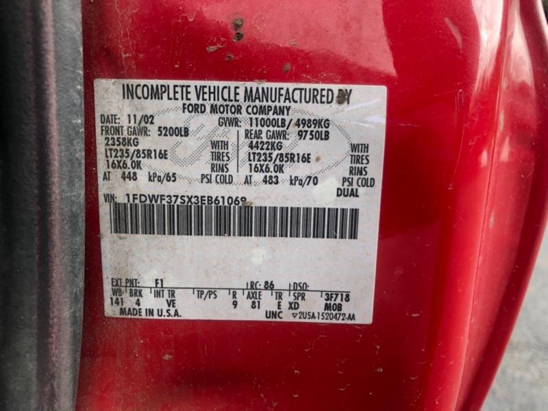 Ford Super Duty F-350 DRW 2003 price $4,995