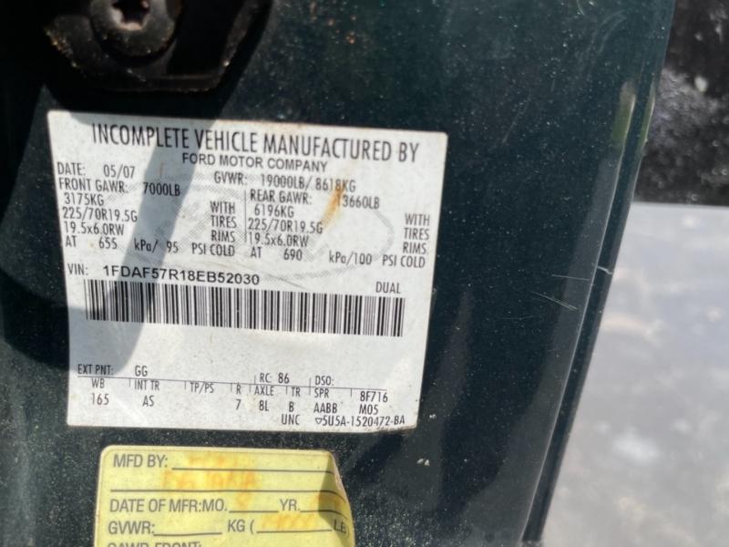 Ford Super Duty F-550 DRW 2008 price $26,000