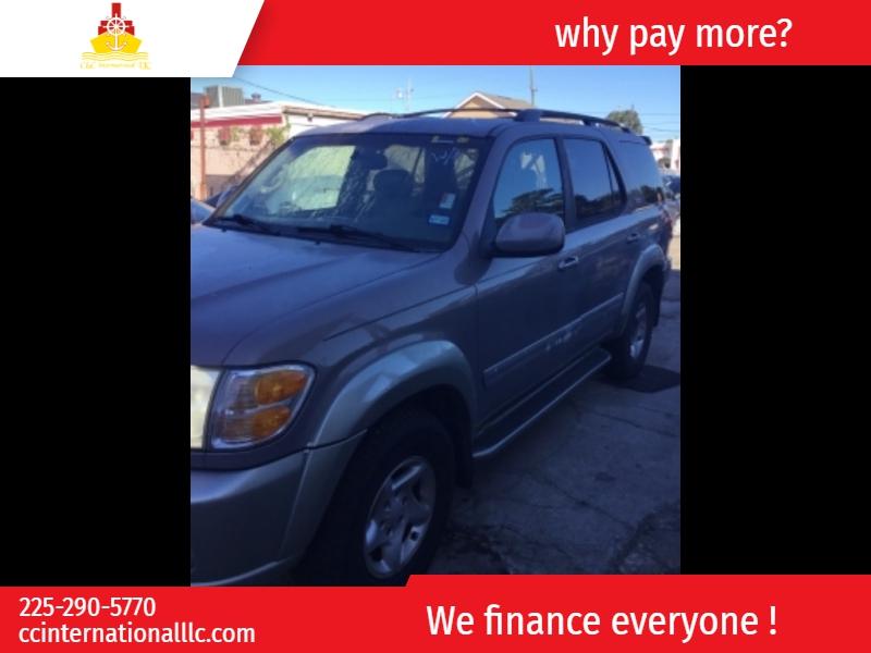 Toyota Sequoia 2002 price $4,500