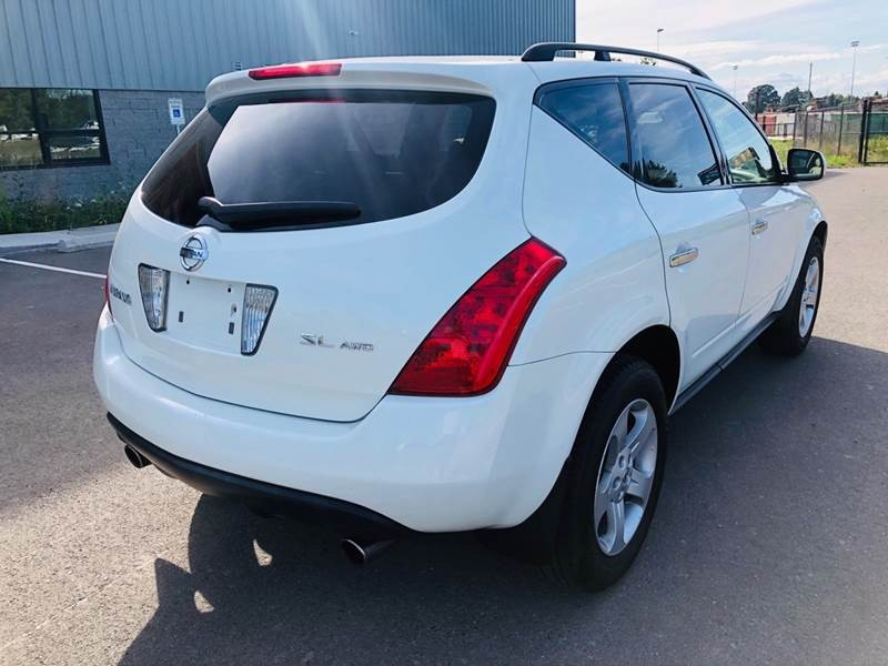 Nissan Murano 2004 price $4,950