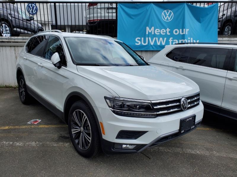 Volkswagen Tiguan 2018 price $32,788