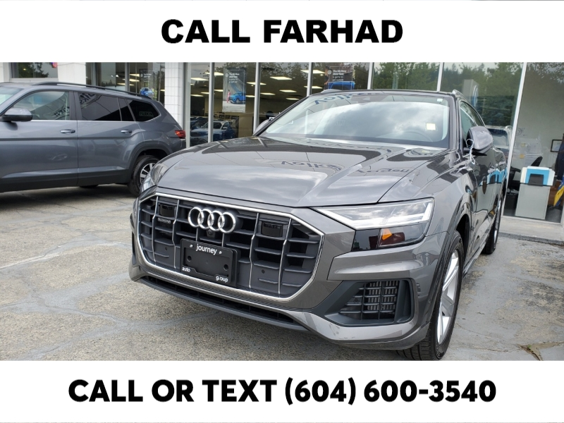 Audi Q8 2019 price $74,788