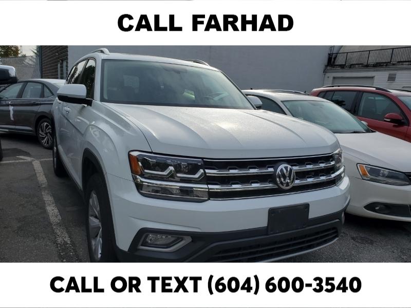 Volkswagen Atlas 2018 price $38,188