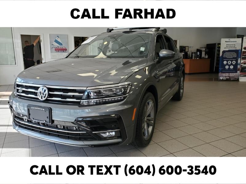 Volkswagen Tiguan 2021 price $44,695