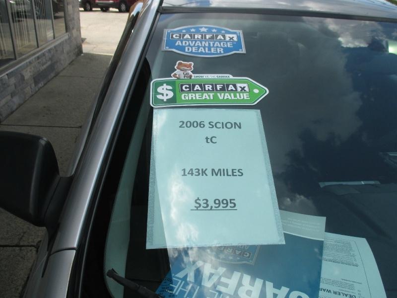 Scion tC 2006 price $3,995