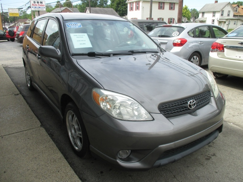 Toyota Matrix 2006 price $4,495
