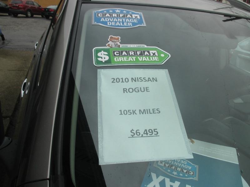 Nissan Rogue 2010 price $6,495