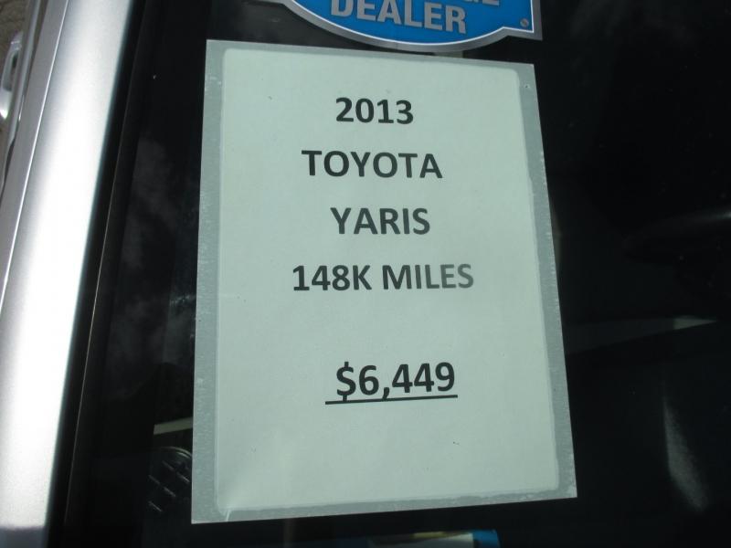 Toyota Yaris 2013 price $6,449