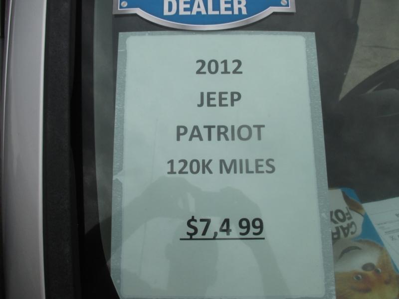 Jeep Patriot 2012 price $7,499