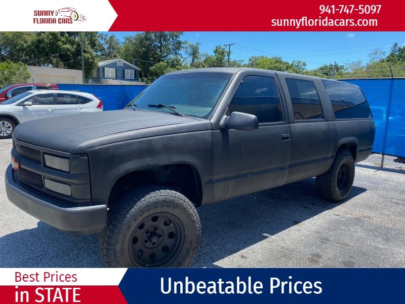 Chevrolet Suburban 1995 price $3,500