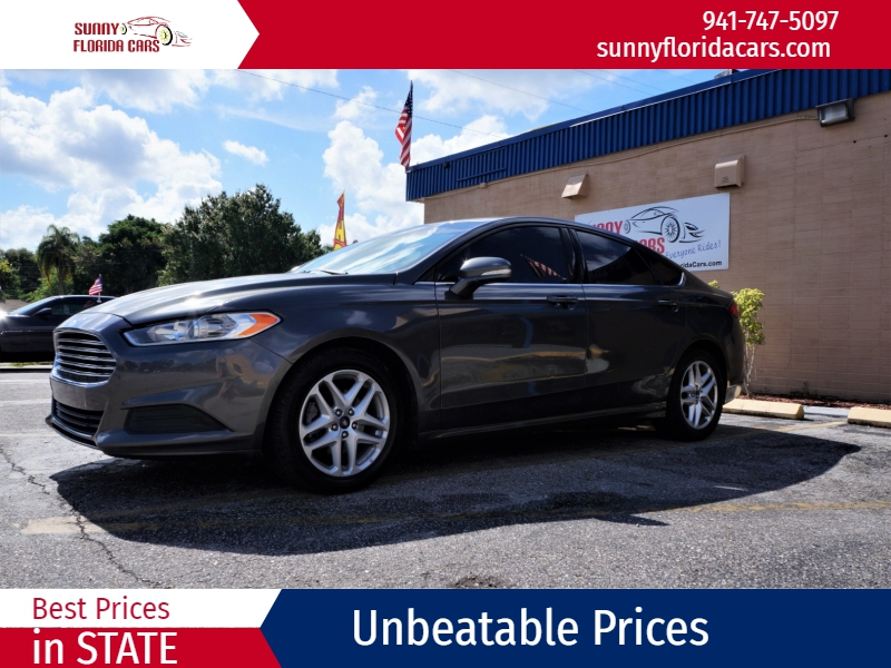 Ford Fusion 2016 price $12,900
