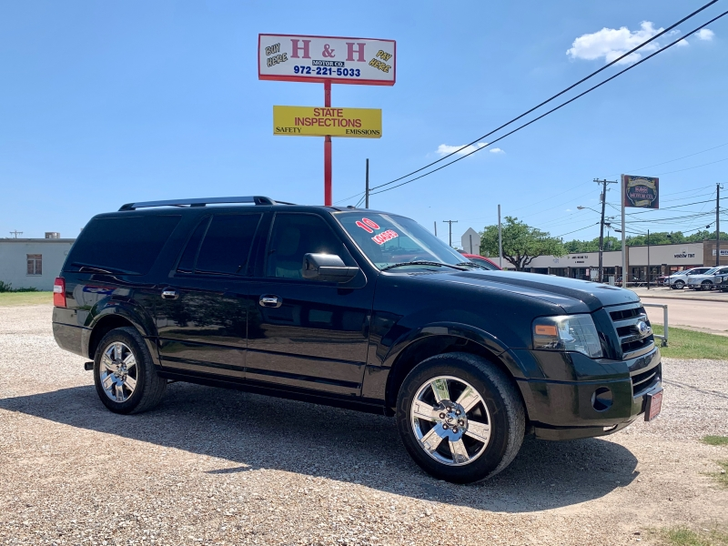 Ford Expedition EL 2010 price $12,000