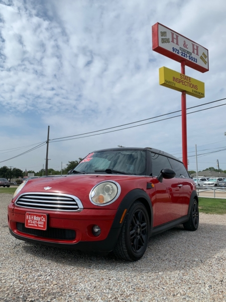 Mini Cooper Clubman 2010 price $8,950