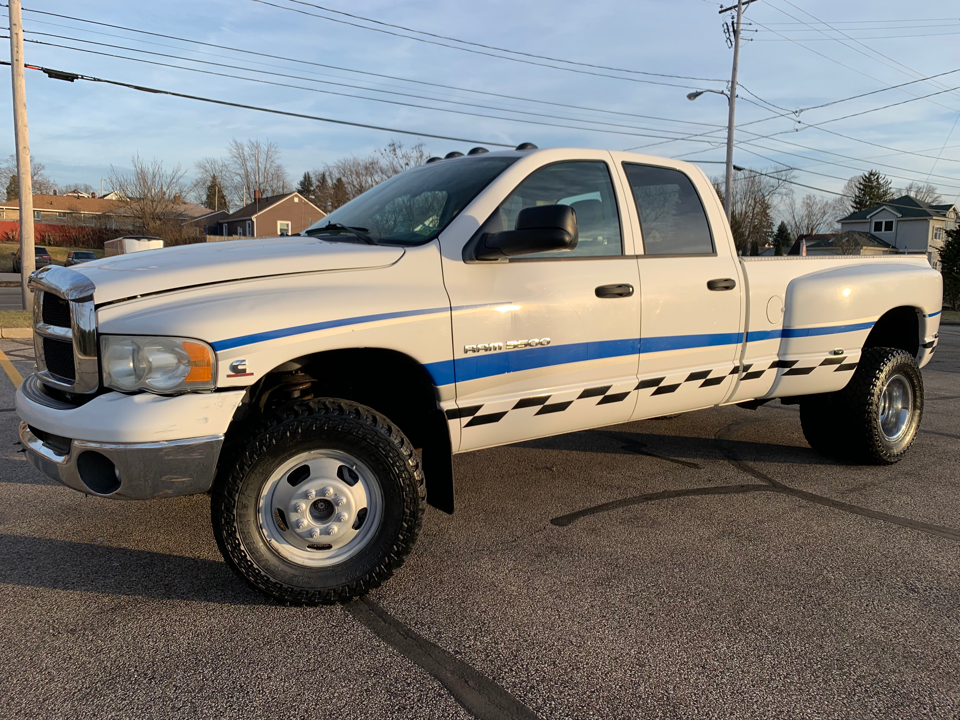 2004 Dodge Ram 3500 Diesel 5 9 Cummins 4x4 Quad Cab Dually 199k Long Bed Clean No Rust Online Auto Warehouse Llc Dealership In Akron