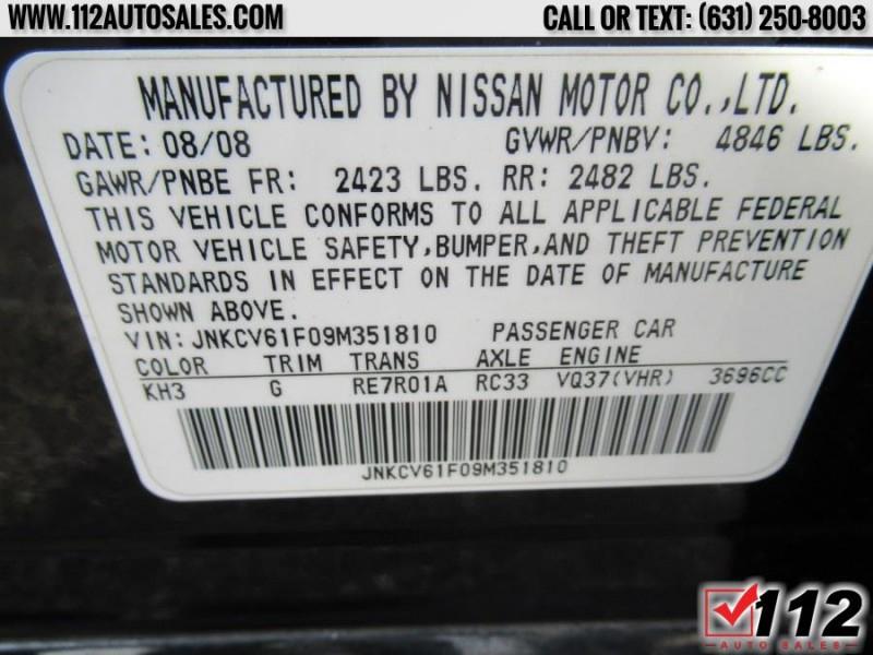 Infiniti G37 Sedan 2009 price $10,595