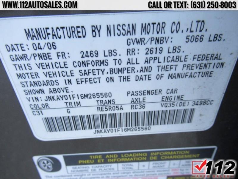 INFINITI M35 2006 price $9,995