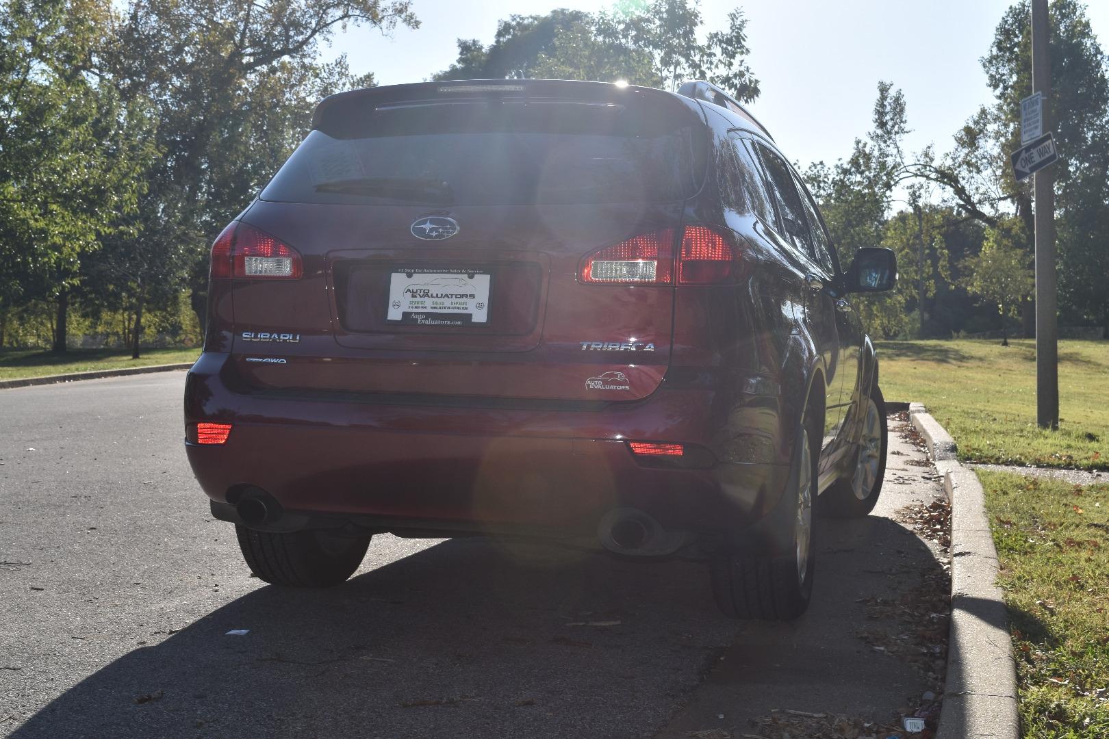 2011 subaru tribeca 4dr 3 6r limited w pwr moonroof pkg nav system auto evaluators dealership in st louis auto evaluators