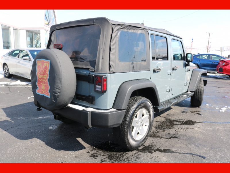 Jeep Wrangler Unlimited 2014 price $22,990