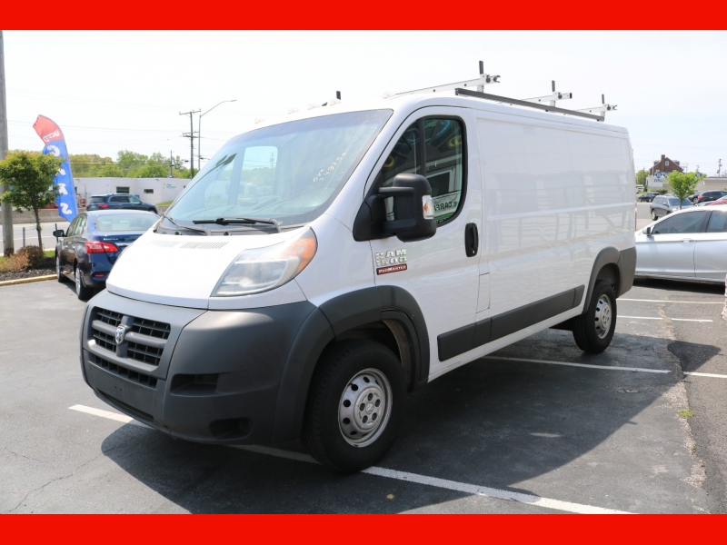 RAM ProMaster Cargo Van 2017 price $20,990