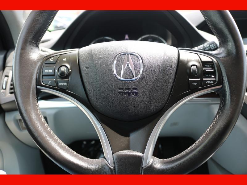 Acura MDX 2016 price $26,990