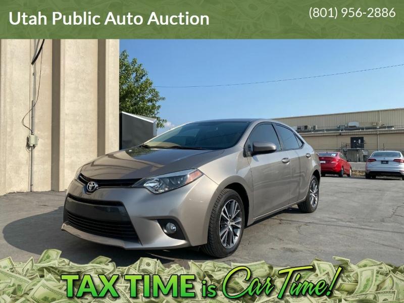 Toyota Corolla 2016 price $12,000