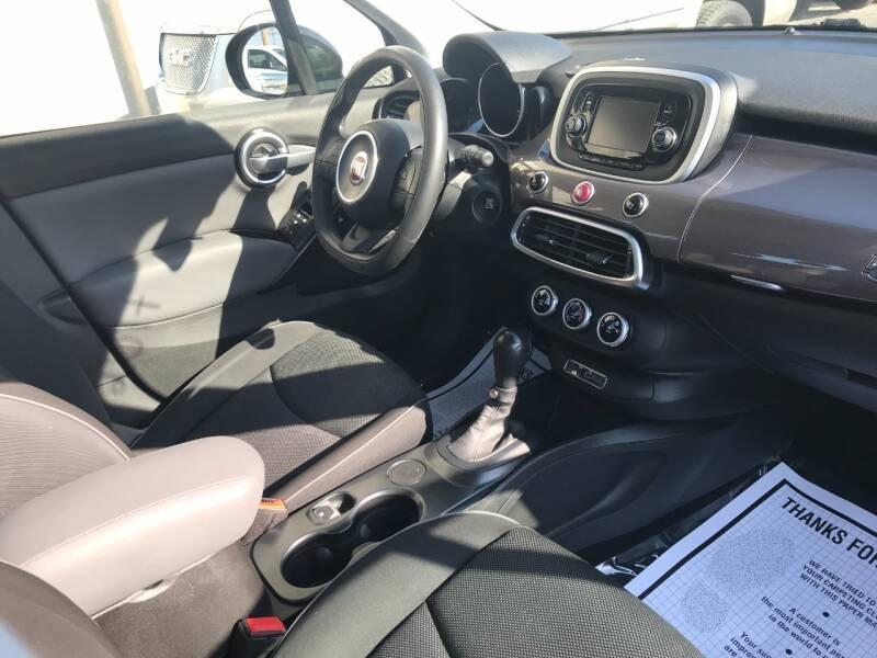 FIAT 500X 2017 price $9,500
