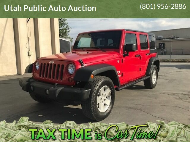 Jeep Wrangler Unlimited 2008 price $13,900