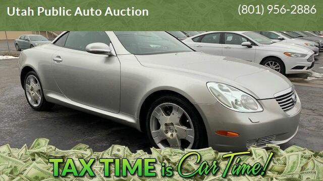 Lexus SC 430 2002 price $9,500