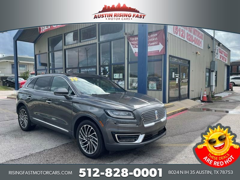 Lincoln Nautilus 2019 price Call for Pricing.