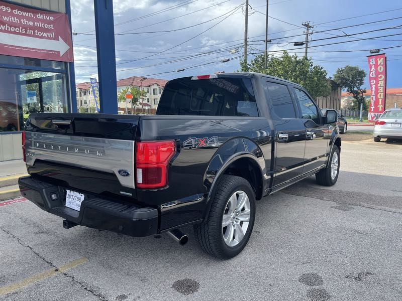 Ford F-150 2019 price $62,995