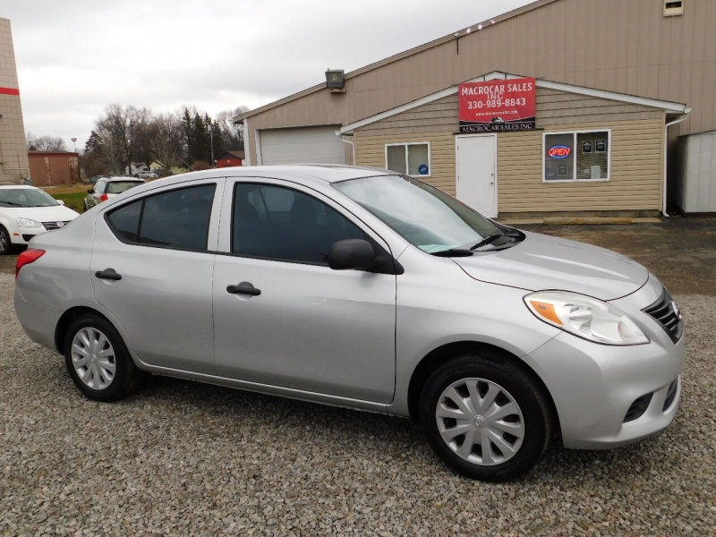 Nissan Versa 2012 price $3,990