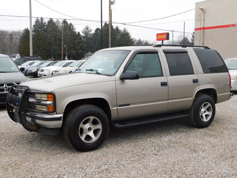 Chevrolet Tahoe 1999 price $4,900