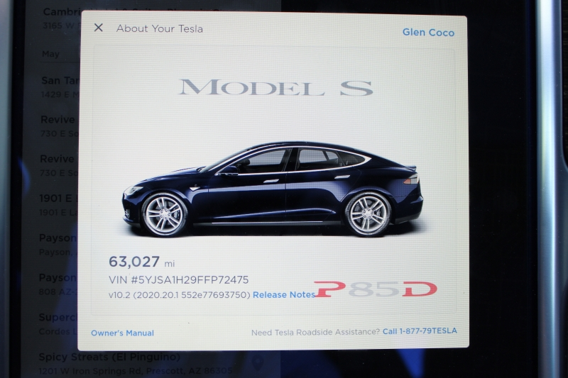 Tesla Model S 2015 price $45,000