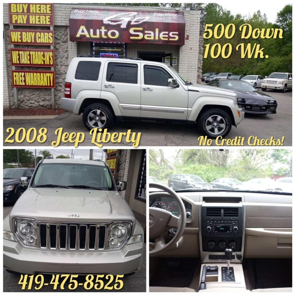 Jeep Liberty 2008 price $12,900