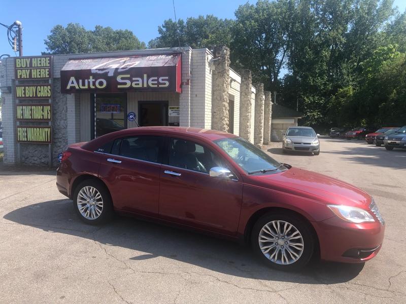 Chrysler 200 2012 price $12,900