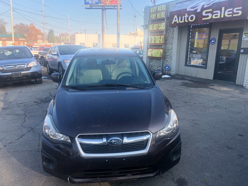Subaru Impreza Sedan 2012 price $0