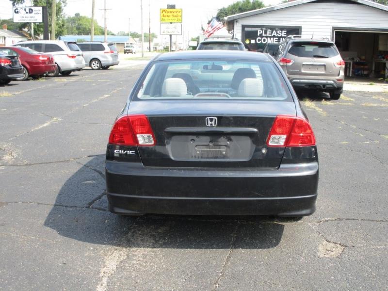 HONDA CIVIC 2005 price $3,500