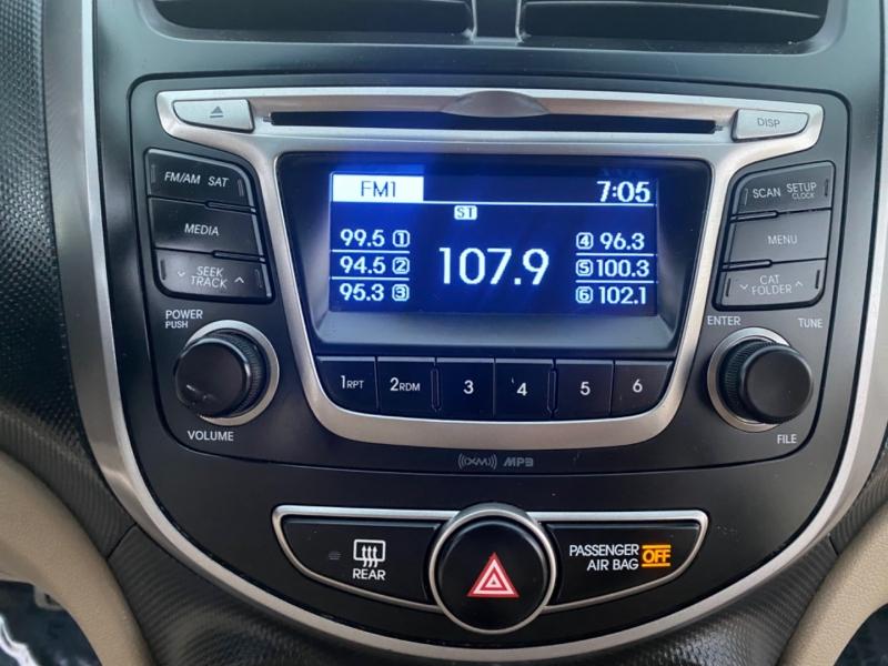 Hyundai Accent 2017 price $11,999