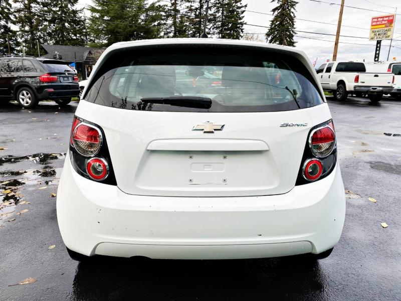 Chevrolet Sonic 2012 price $4,495